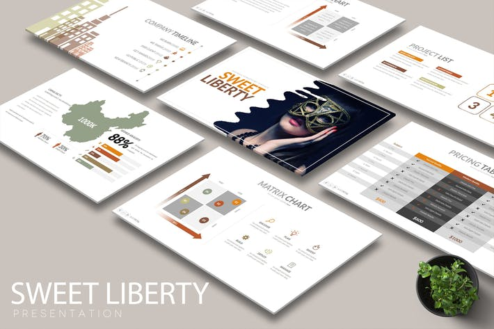 Thumbnail for SWEET LIBERTY Powerpoint