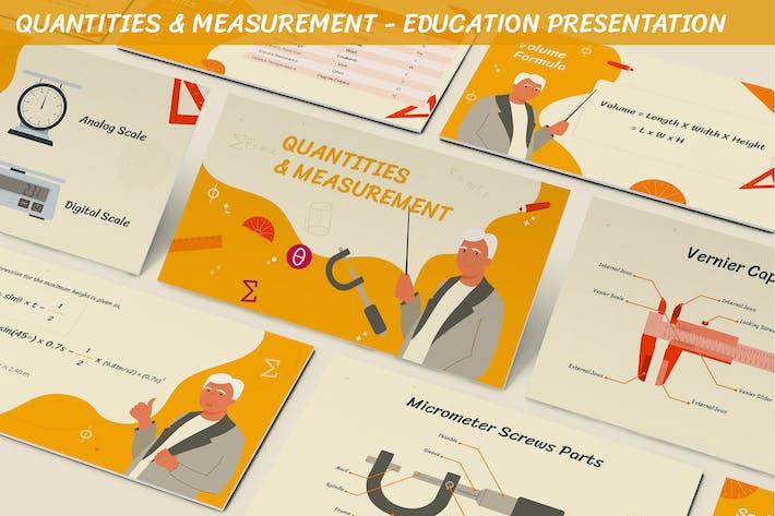 Thumbnail for Количество и измерение - Презентация образования