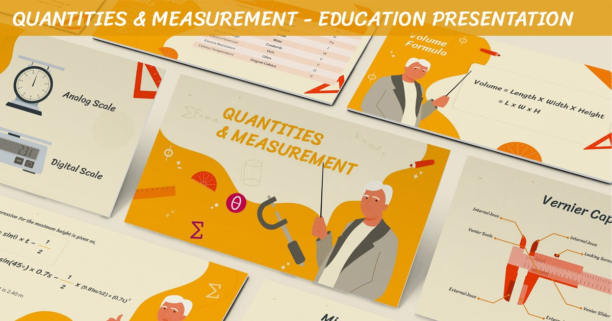 Download Quantities & Measurement - Education Presentation by SlideFactory