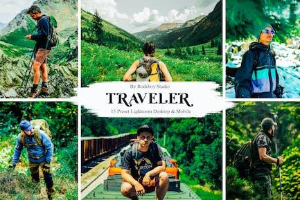 15 Traveler Lightroom Presets