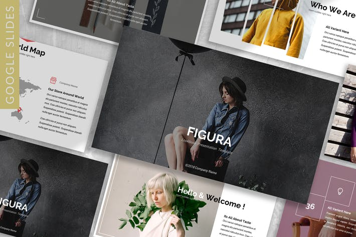 Thumbnail for Figura - Fashion Google Slide Template