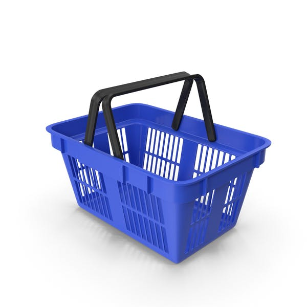 Shoping Basket Blue