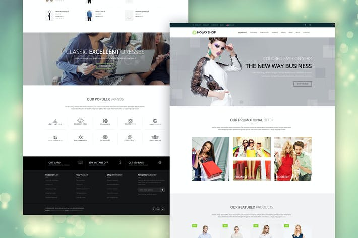 Holax - Multipurpose Hikashop eCommerce Template