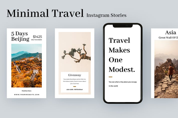 Thumbnail for Minimal Travel Instagram Stories