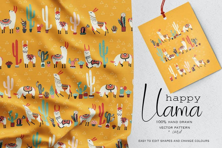 Thumbnail for Happy Llama