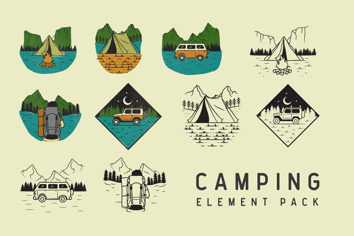 Thumbnail for Camping Element Pack