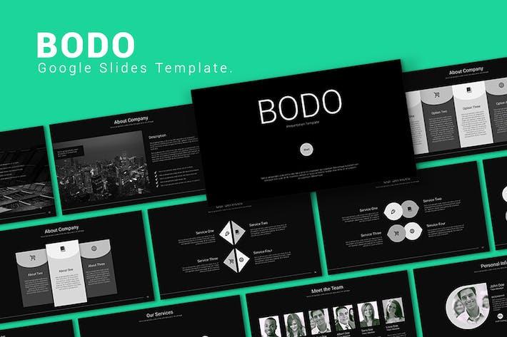BODO - Google Slides Template