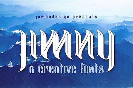 jimny - Font de style créatif