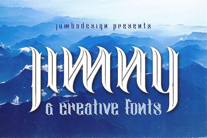 Thumbnail for jimny - Creative Style Font