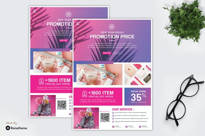 Thumbnail for Vola - Product Promotion & Sale Flyer HR