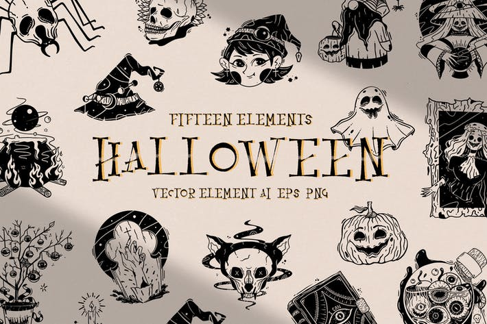 Thumbnail for Halloween Illustration Collection