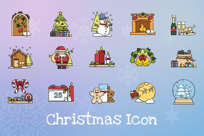 Thumbnail for Christmas Scene Icon