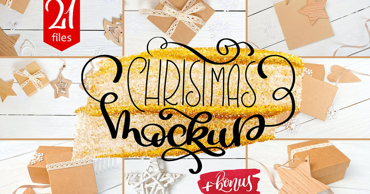 Christmas Mock Up Photos Collection by timonko