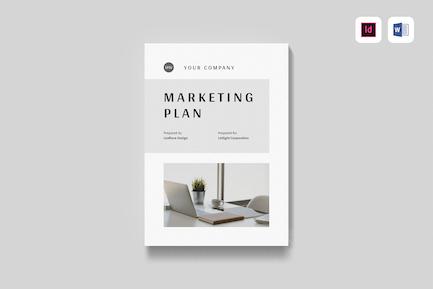 Marketing Plan | MS Word & Indesign