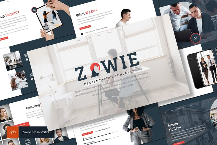 Thumbnail for Zowie - Business Powerpoint Template