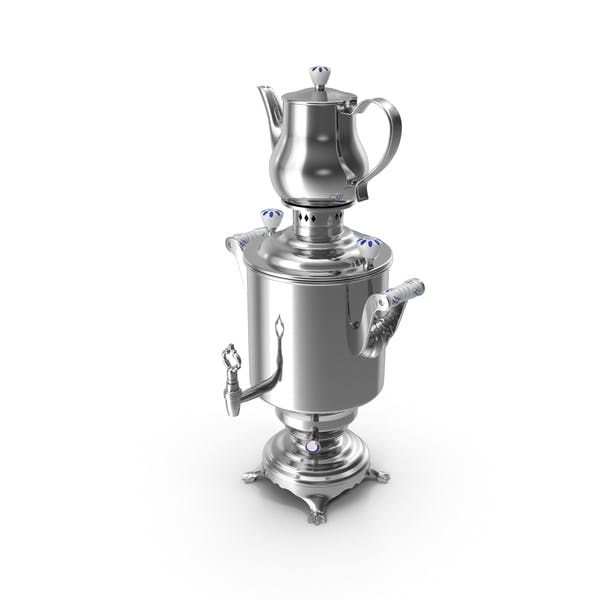 Thumbnail for Modern Russian Samovar Set