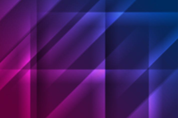 Thumbnail for Blue purple glowing smooth stripes background