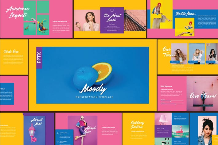 Thumbnail for MOODY Business Presentation Template - LS