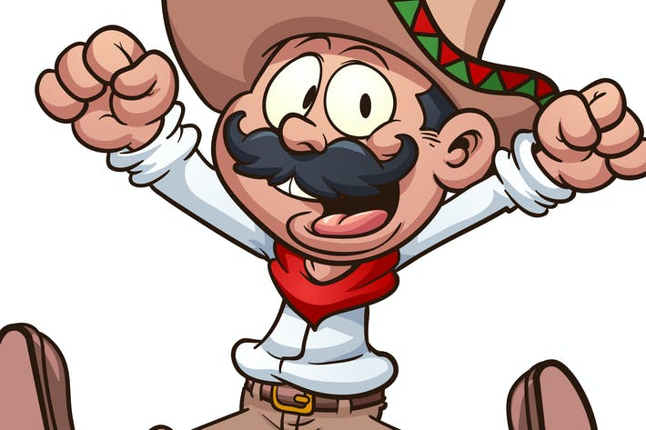Cartoon Mexican