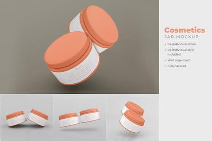 Cosmetics Box Mockup - Vol 04