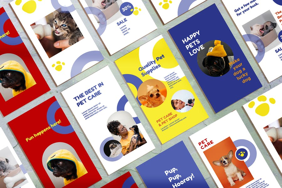 Pet Care / Shop Instagram Story