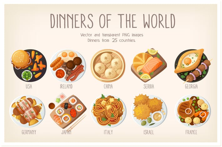 Thumbnail for Dinners of the world