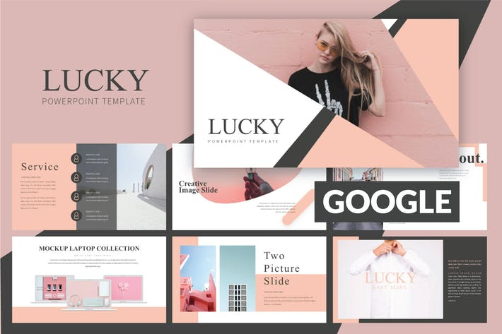 Thumbnail for Lucky Google Slide Template LS