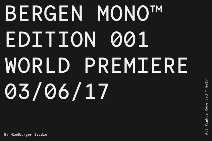 Thumbnail for Bergen Mono