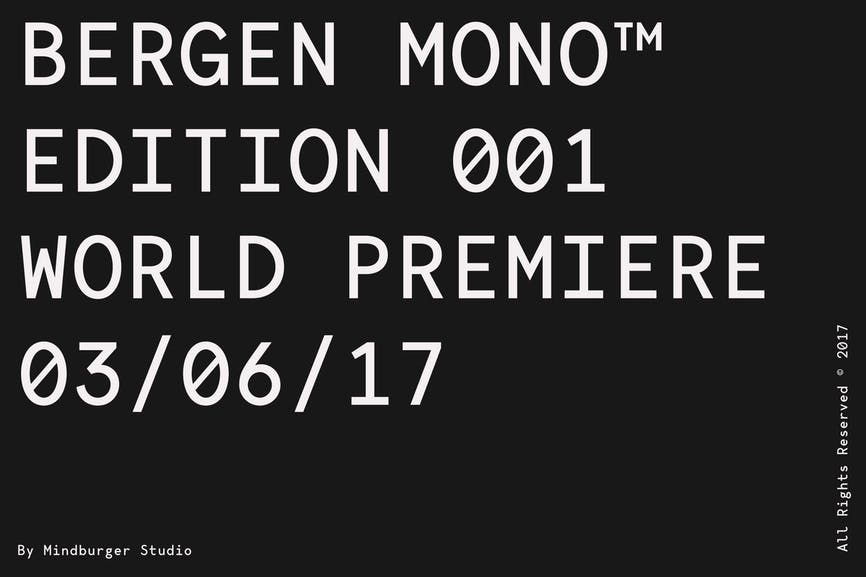 Bergen-Mono