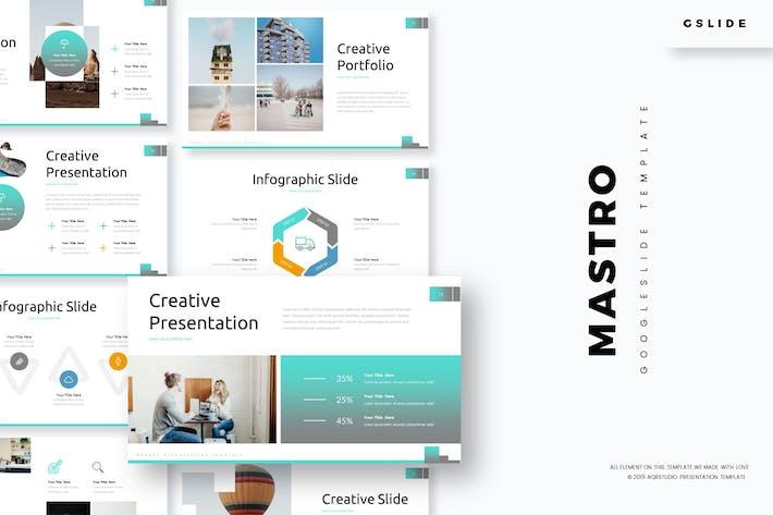 Mastro - Google Slide Template by aqrstudio on Envato Elements