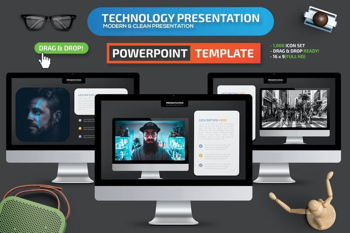 Thumbnail for Technology Powerpoint Presentation