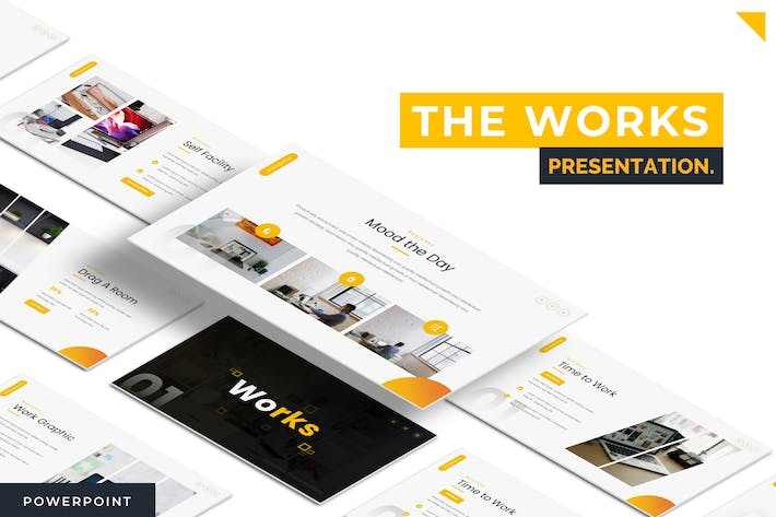 Thumbnail for Works - Powerpoint Template