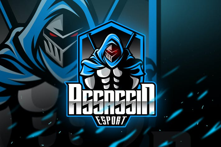 Thumbnail for Assassin - Mascot & Logo Esport