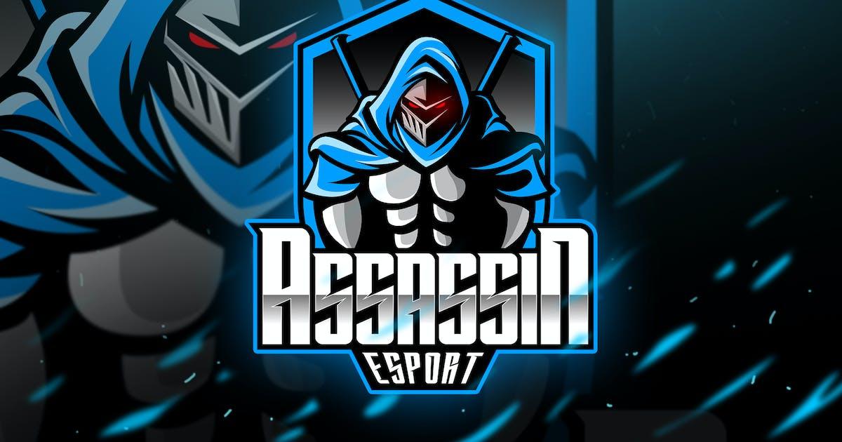 Download Assassin - Mascot & Logo Esport by aqrstudio
