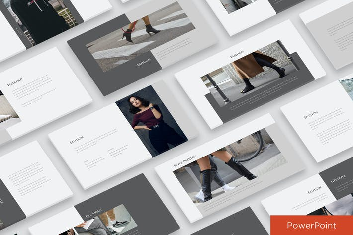 Thumbnail for Modern Fashion Presentation Powerpoint