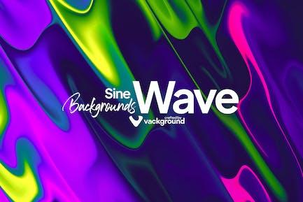Sine Wave Backgrounds