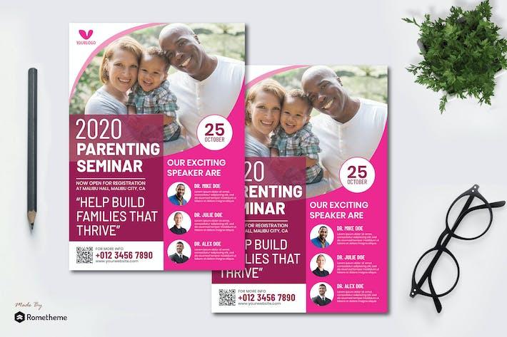 Thumbnail for Parenting Seminar - Seminar Flyer RB