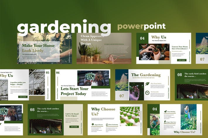 Thumbnail for Ellen - Home Gardening Powerpoint Presentation
