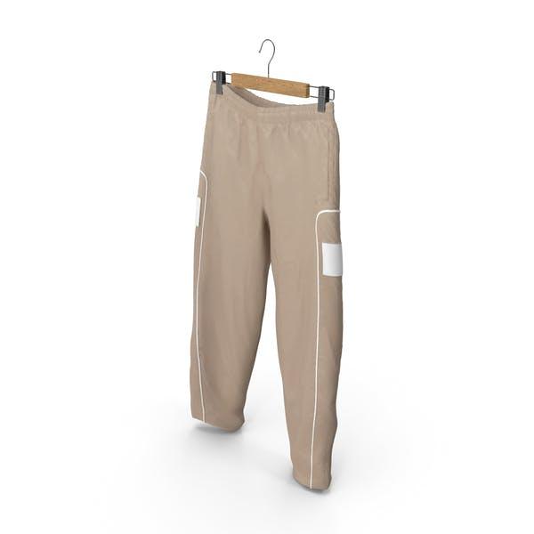 Спортивные брюки бежевый