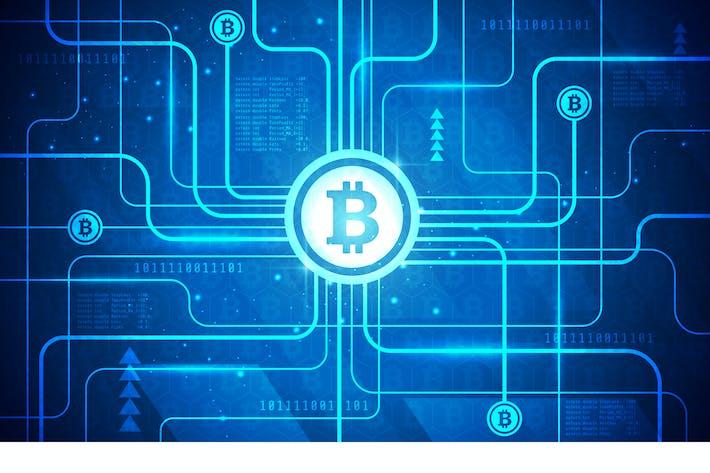 Thumbnail for Bitcoin Technology Vector Illustration 1