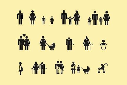 13 Семейные Иконки