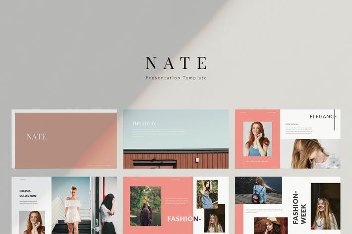 Thumbnail for Nate - Powerpoint Template