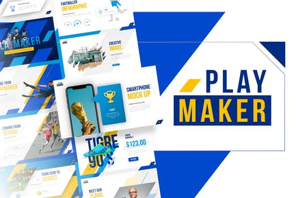Playmaker - Football Powerpoint Template