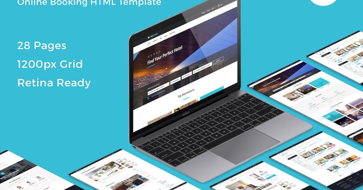 Download Hotel Finder - Online Booking HTML Website Templat by bestwebsoft