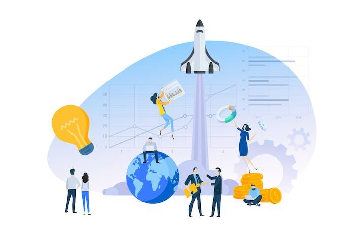 Thumbnail for Business Illustration