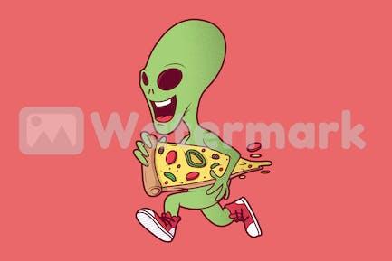 Alien Pizza
