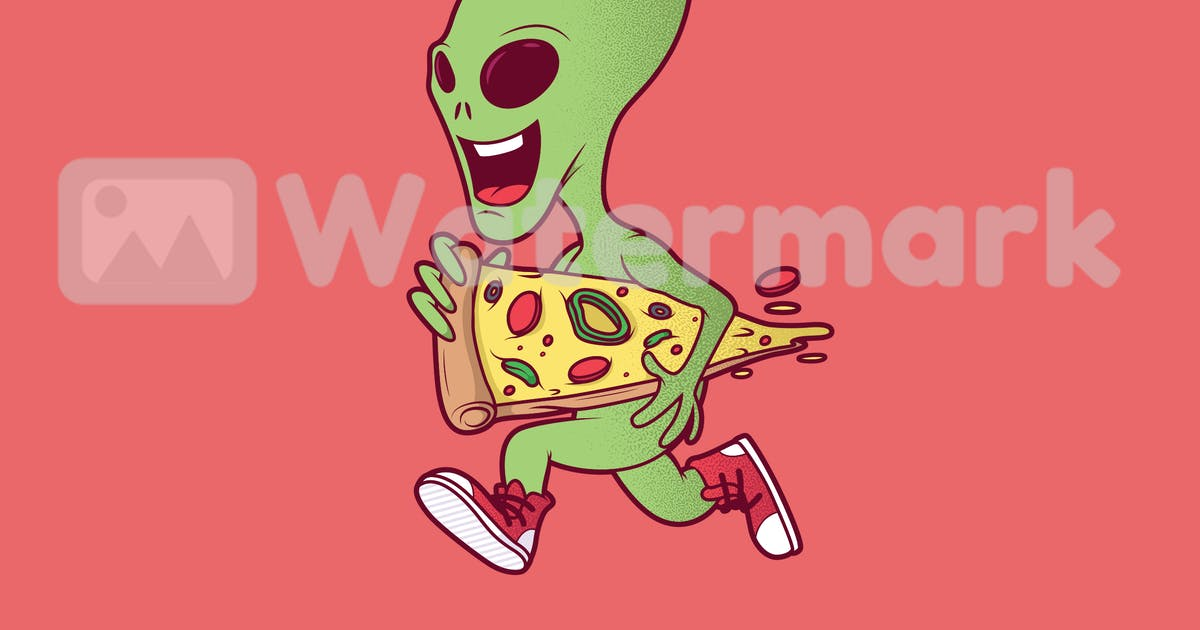 Download Alien Pizza by fernandespedro
