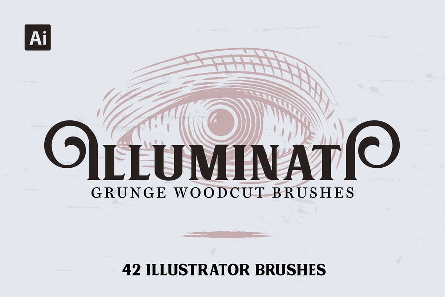 Illuminati Woodcut Brushes