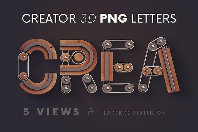 Creator - 3D Lettering