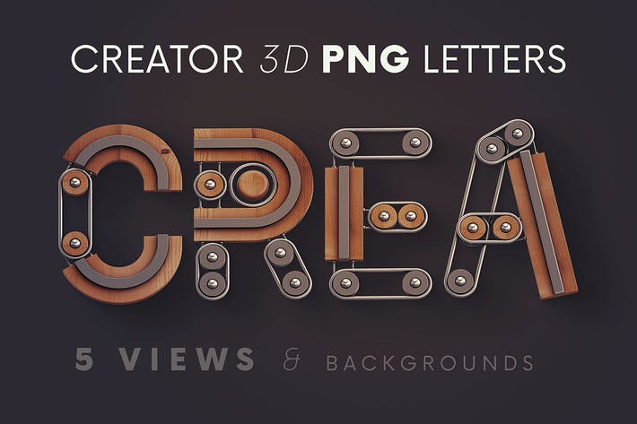 Thumbnail for Creator - 3D Lettering
